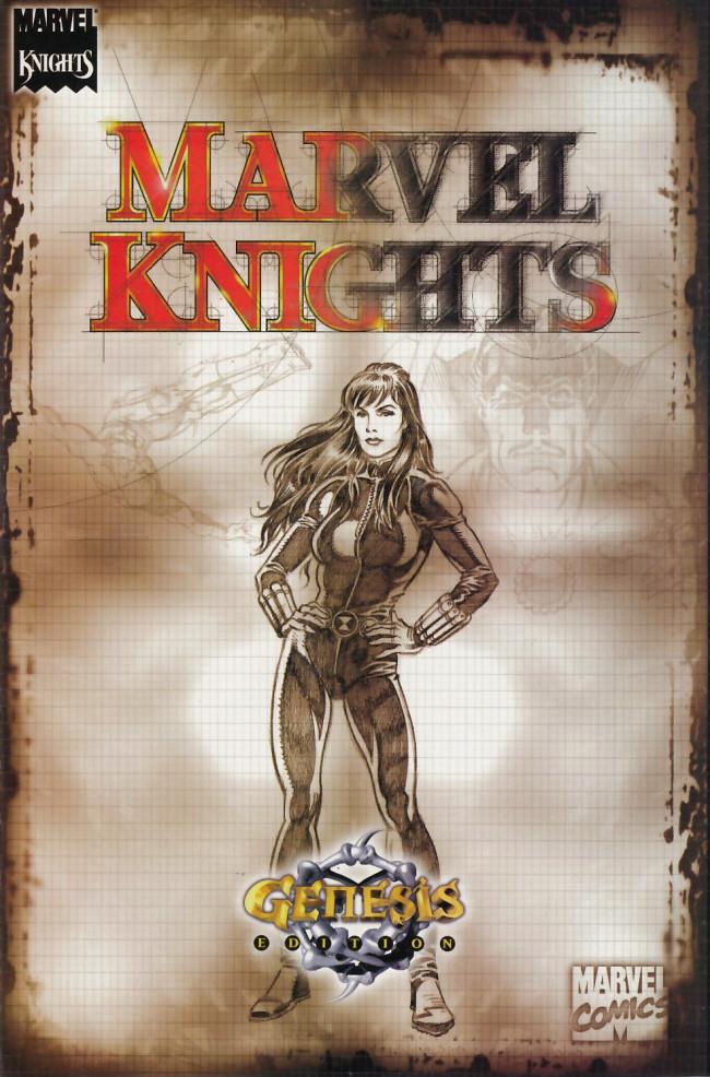 Couverture de Marvel Knights / Marvel Boy Genesis Edition (2000) -OS- Marvel Knights/ Marvel Boy genesis edition
