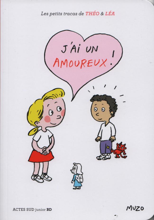 Couverture de Les petits tracas de Théo & Léa -10- J'ai un amoureux !