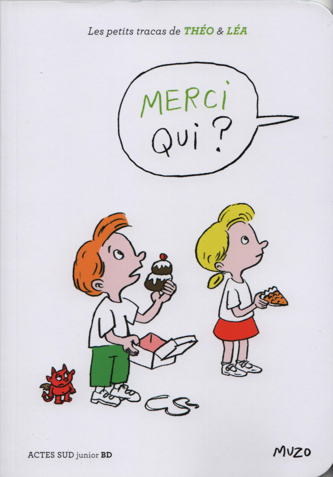 Couverture de Les petits tracas de Théo & Léa -11- Merci qui ?