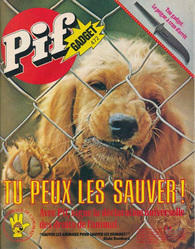 Couverture de Pif (Gadget) -472- Tu peux les sauver !