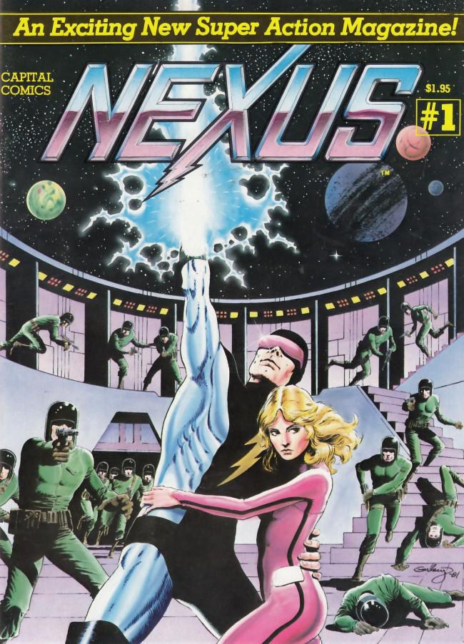 Couverture de Nexus (Baron/Rude, 1981) -1- Nexus 1
