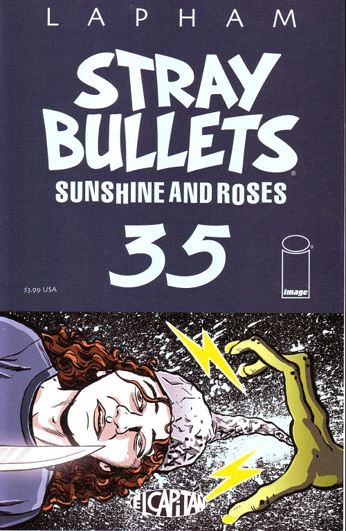 Couverture de Stray Bullets: Sunshine & Roses (2015) -35- Protect your brain