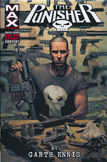 Couverture de Punisher Max: The Complete Collection (2016) -INTHC01- Punisher Max by Garth Ennis Omnibus 1