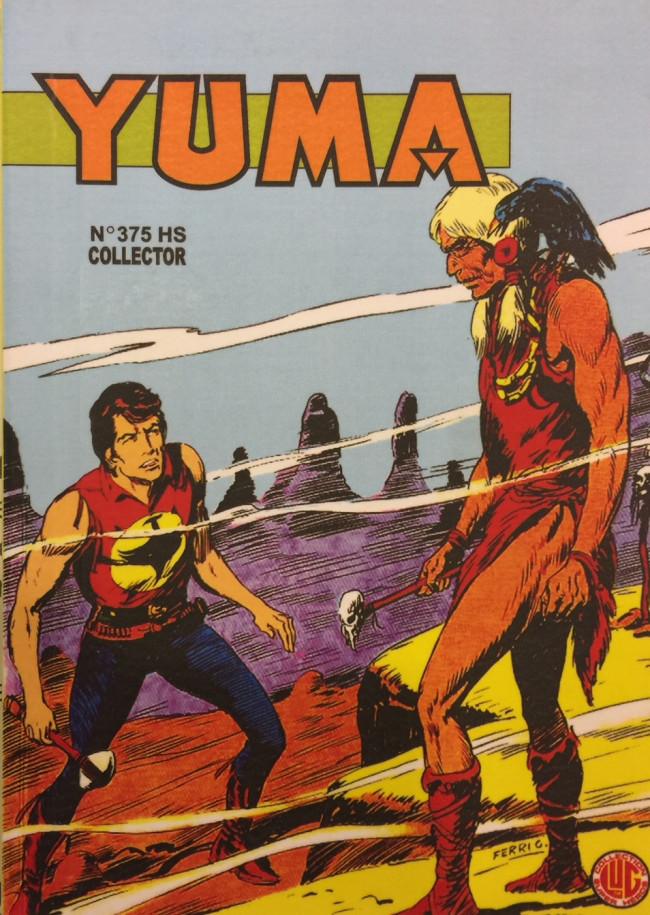Couverture de Yuma (1re série) -375HS- Le vieillard de la montagne