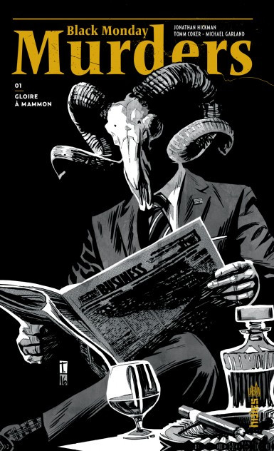 Couverture de Black Monday Murders -1- Gloire à Mammon