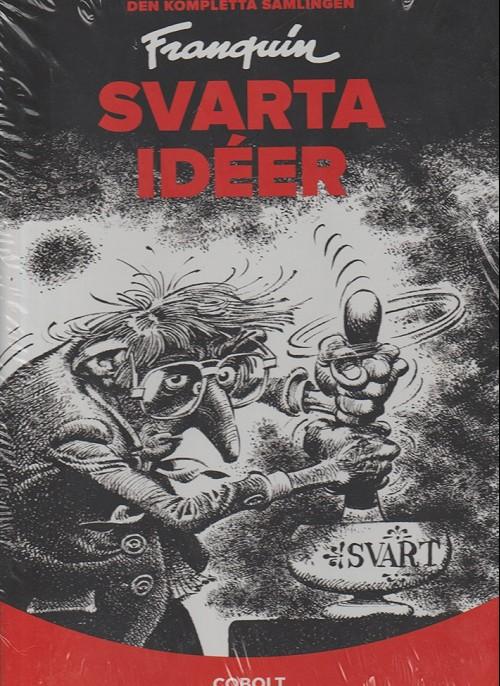 Couverture de Idées noires (en langues étrangères) -INT Suédoi- Svarta idéer