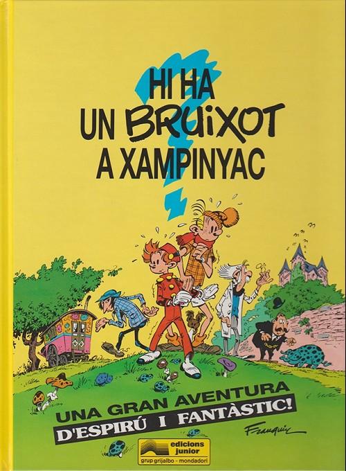 Couverture de Spirou et Fantasio (en langues régionales) -1Catalan- Hi ha un bruixot a xampinyac