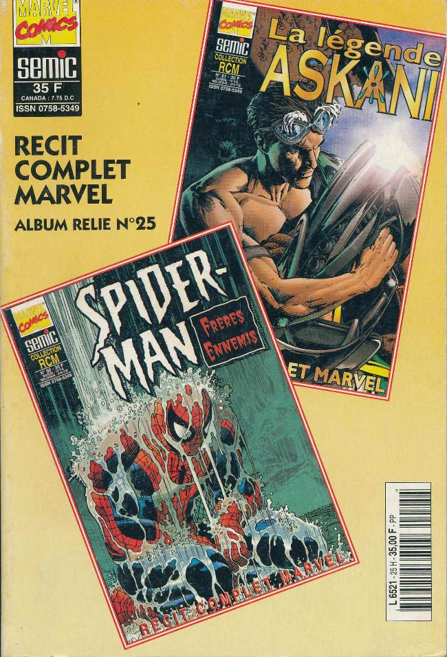 Couverture de Un récit complet Marvel -REC25- Double Album Relié N°25 (N°50 et N°51)
