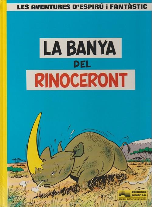 Couverture de Spirou et Fantasio (en langues régionales) -4Catalan- La banya del rinoceront