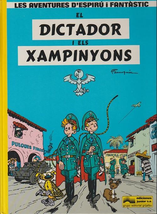 Couverture de Spirou et Fantasio (en langues régionales) -6Catalan- El dictador i els xampinyons