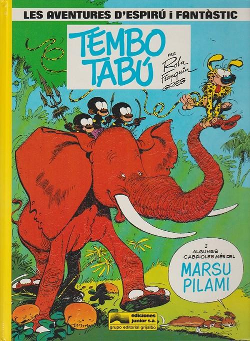 Couverture de Spirou et Fantasio (en langues régionales) -16Catalan- Tembo tabú