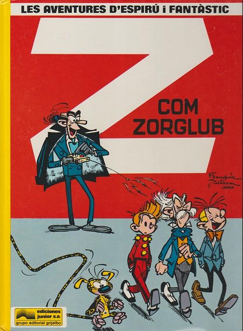 Couverture de Spirou et Fantasio (en langues régionales) -17Catalan- Z com zorglub