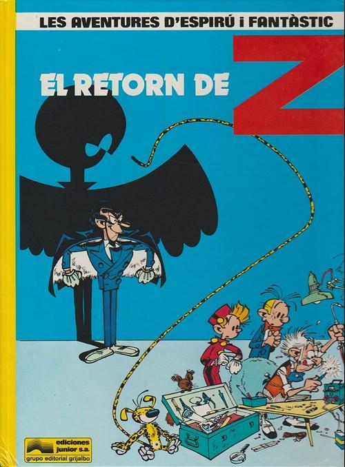 Couverture de Spirou et Fantasio (en langues régionales) -18Catalan- El retorn de Z