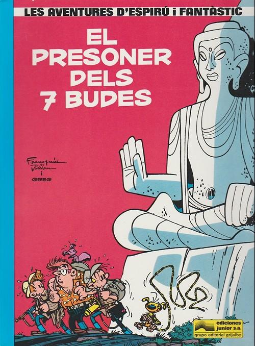 Couverture de Spirou et Fantasio (en langues régionales) -12Catalan- El presoner dels 7 budes