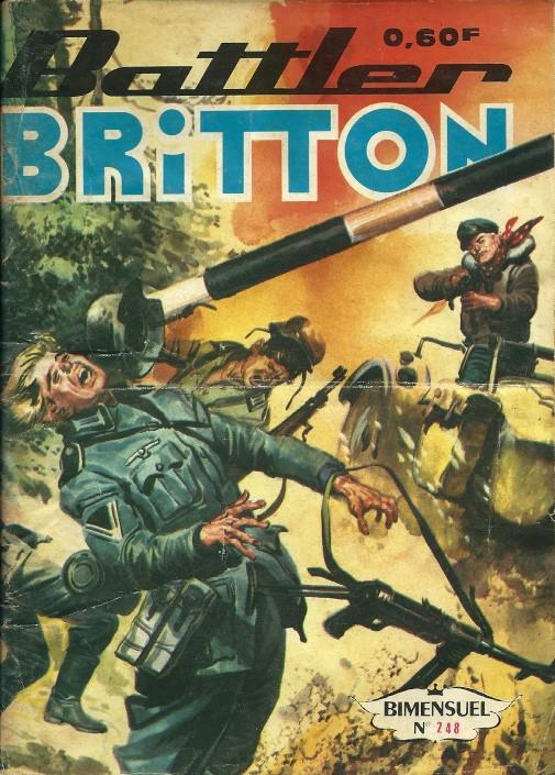 Couverture de Battler Britton -248- Un noël agité