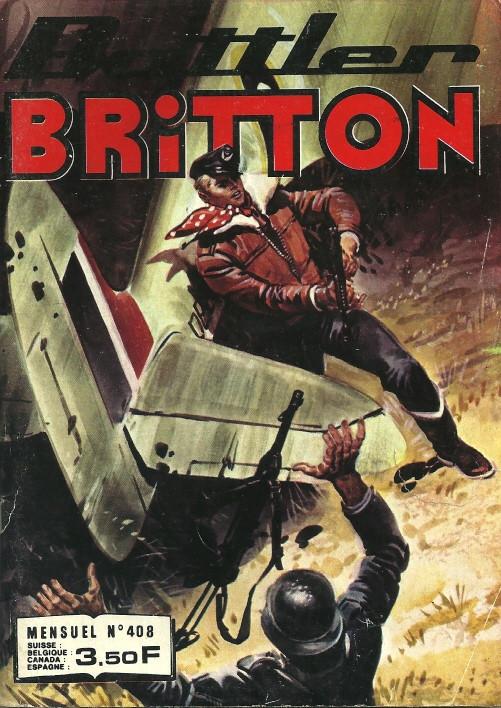 Couverture de Battler Britton (Imperia) -408- Aide-toi, la chance t'aidera