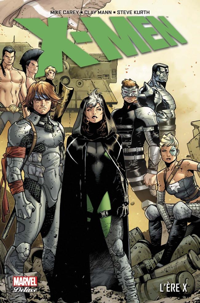 Couverture de X-Men (Marvel Deluxe) - L'ère X