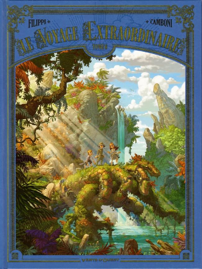 Couverture de Le voyage Extraordinaire -6- Tome 6 - Les Îles mystérieuses - 3/3