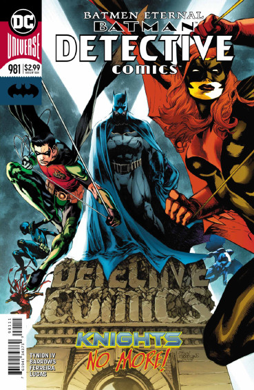 Couverture de Detective Comics (1937), Période Rebirth (2016) -981- Batmen Eternal - Finale
