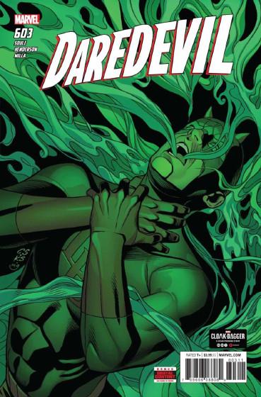 Couverture de Daredevil (1964) -603- Untitled