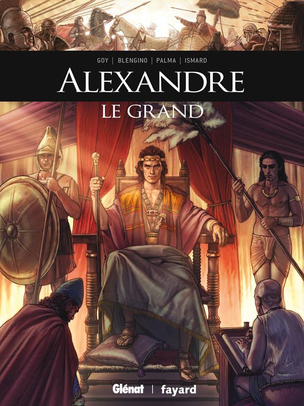 Couverture de Ils ont fait l'Histoire -27- Alexandre le Grand