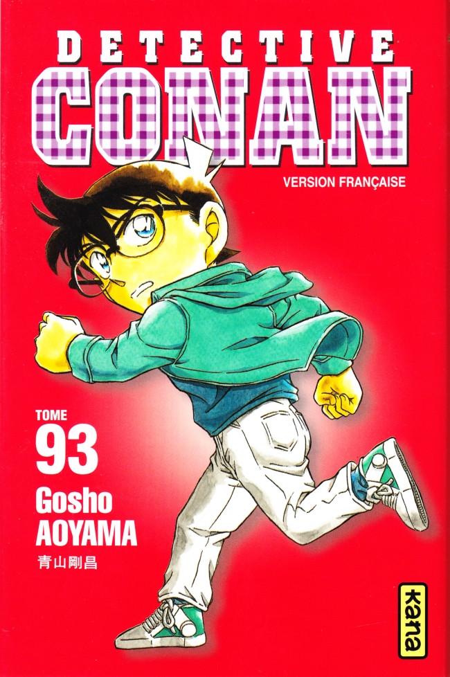 Couverture de Détective Conan -93- Tome 93
