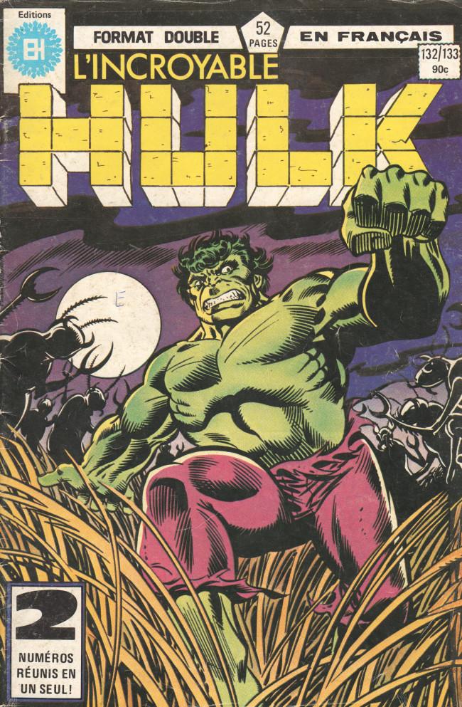 Couverture de L'incroyable Hulk (Éditions Héritage) -132133- ...Une fois Hulk, toujours Hulk !