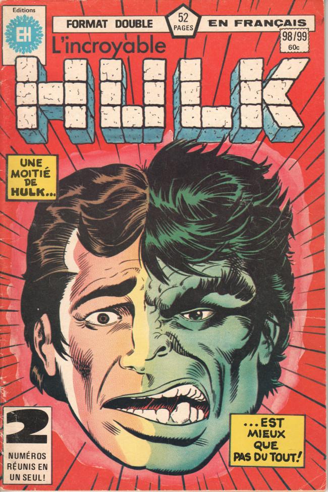 Couverture de L'incroyable Hulk (Éditions Héritage) -9899- ... et maintenant El Dorado