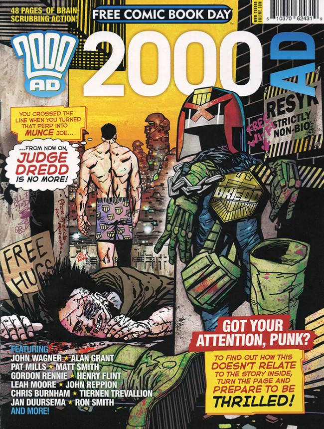 Couverture de 2000 AD (1977) -FCBD 2014- 2000 AD - Free Comic Book Day 2014