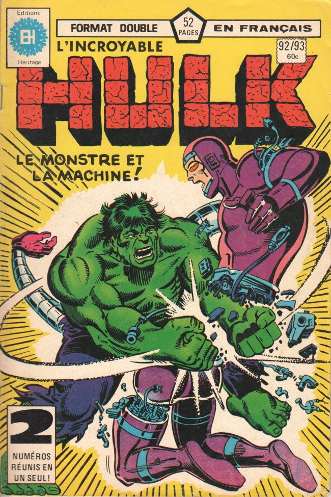 Couverture de L'incroyable Hulk (Éditions Héritage) -9293- Champ de bataille : Berkeley !