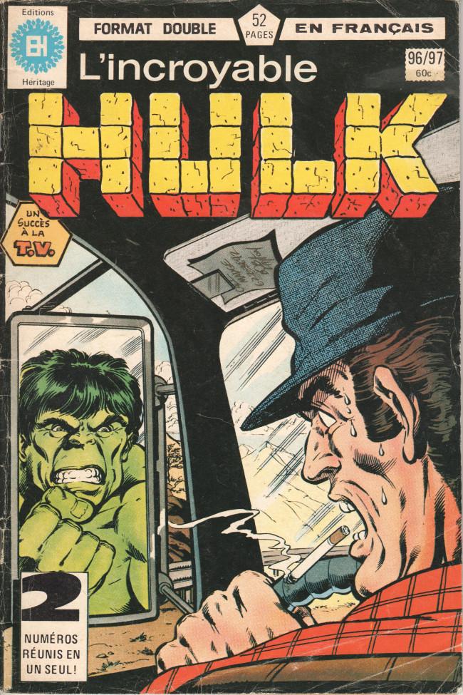 Couverture de L'incroyable Hulk (Éditions Héritage) -9697- ... Holocauste