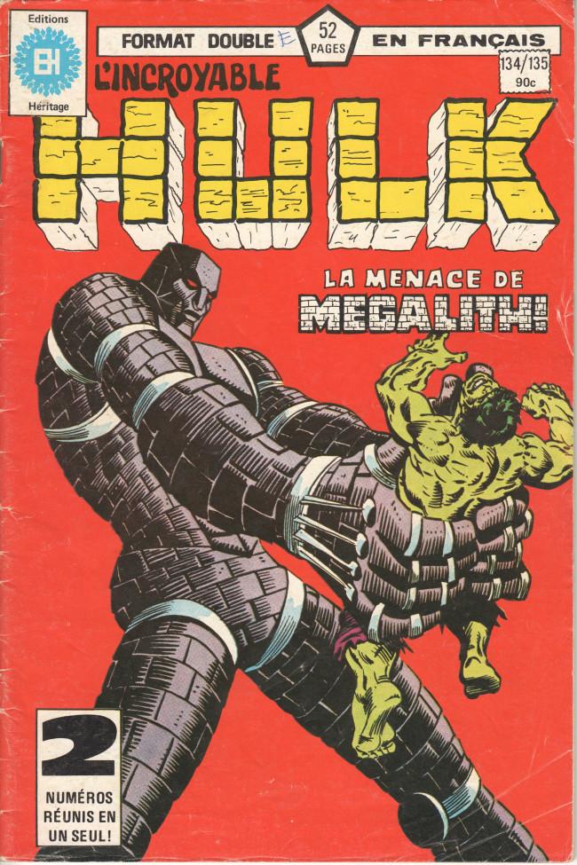 Couverture de L'incroyable Hulk (Éditions Héritage) -134135- Megalith !