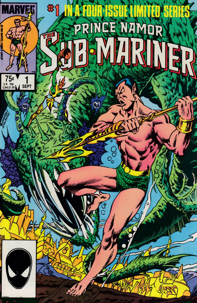 Couverture de Prince Namor, the sub-mariner (1984) -1- A New Age Dawning?