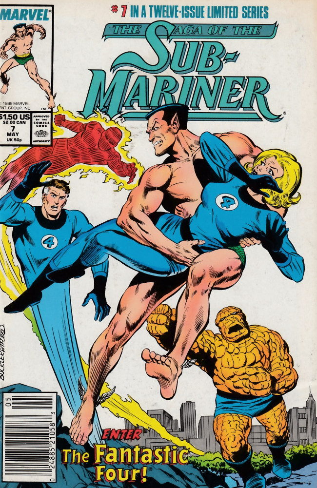 Couverture de Saga of the sub-mariner (the) (1988) -7- Rage and Remembrance