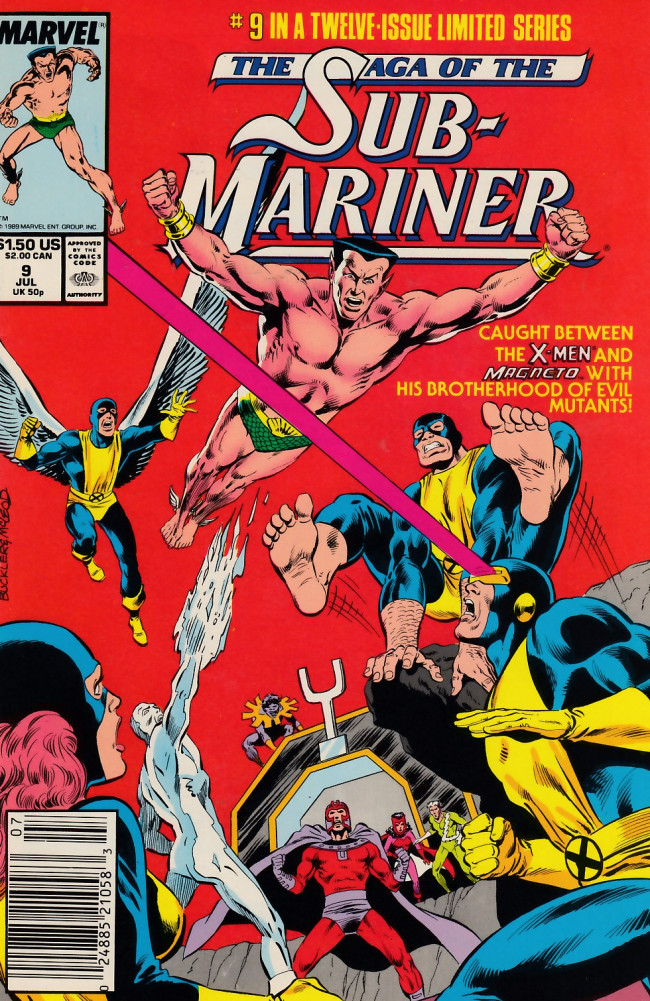 Couverture de Saga of the sub-mariner (the) (1988) -9- Rendezvous with Destiny