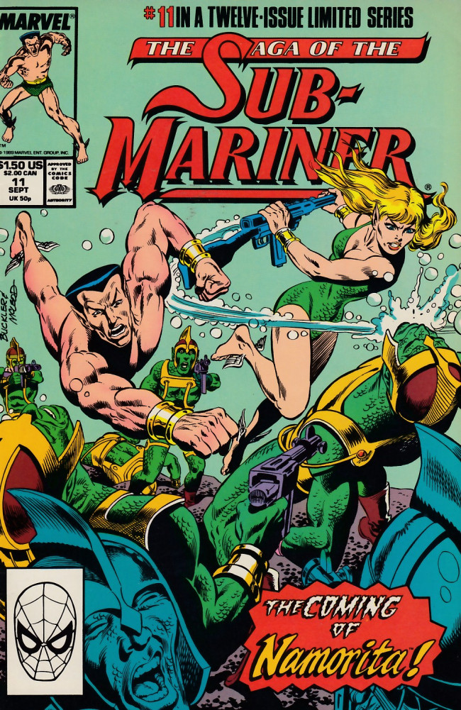 Couverture de Saga of the sub-mariner (the) (1988) -11- Blood Ties