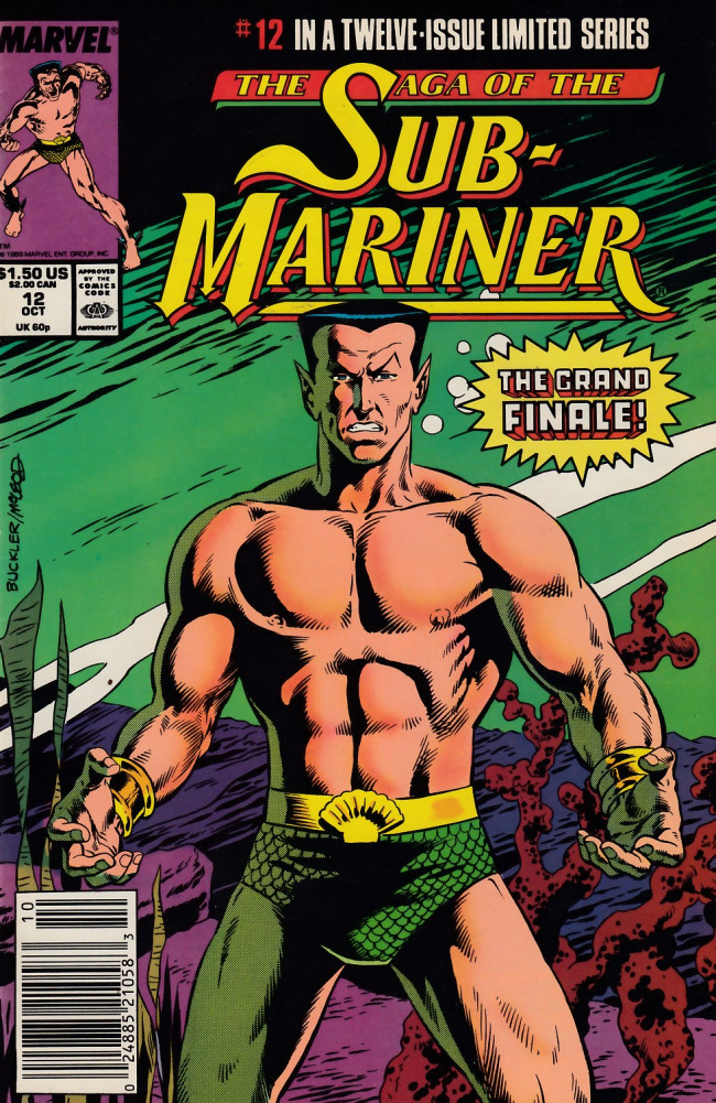 Couverture de Saga of the sub-mariner (the) (1988) -12- Triumphs-- and Tragedy