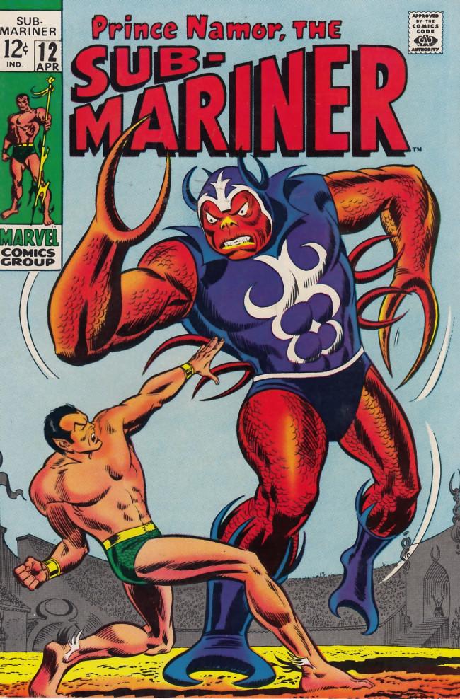 Couverture de Sub-Mariner Vol.1 (Marvel - 1968) -12- A World Against Me!