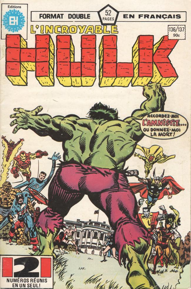 Couverture de L'incroyable Hulk (Éditions Héritage) -136137- A quoi servent les amis !