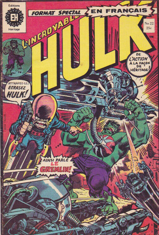 Couverture de L'incroyable Hulk (Éditions Héritage) -22- Traqué