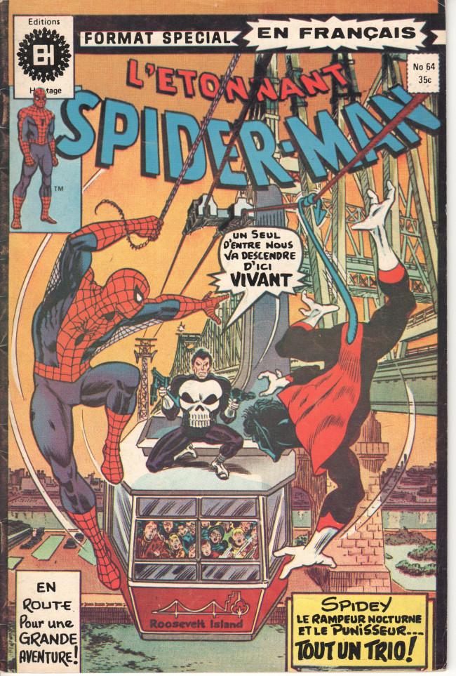 Couverture de L'Étonnant Spider-Man (Éditions Héritage) -64- Une atmosphère de crimes !