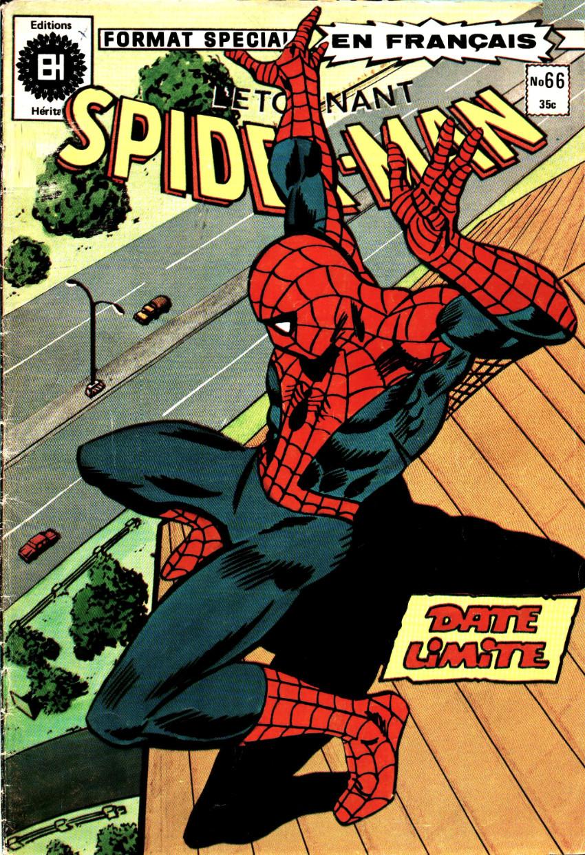 Couverture de L'Étonnant Spider-Man (Éditions Héritage) -66- Date limite