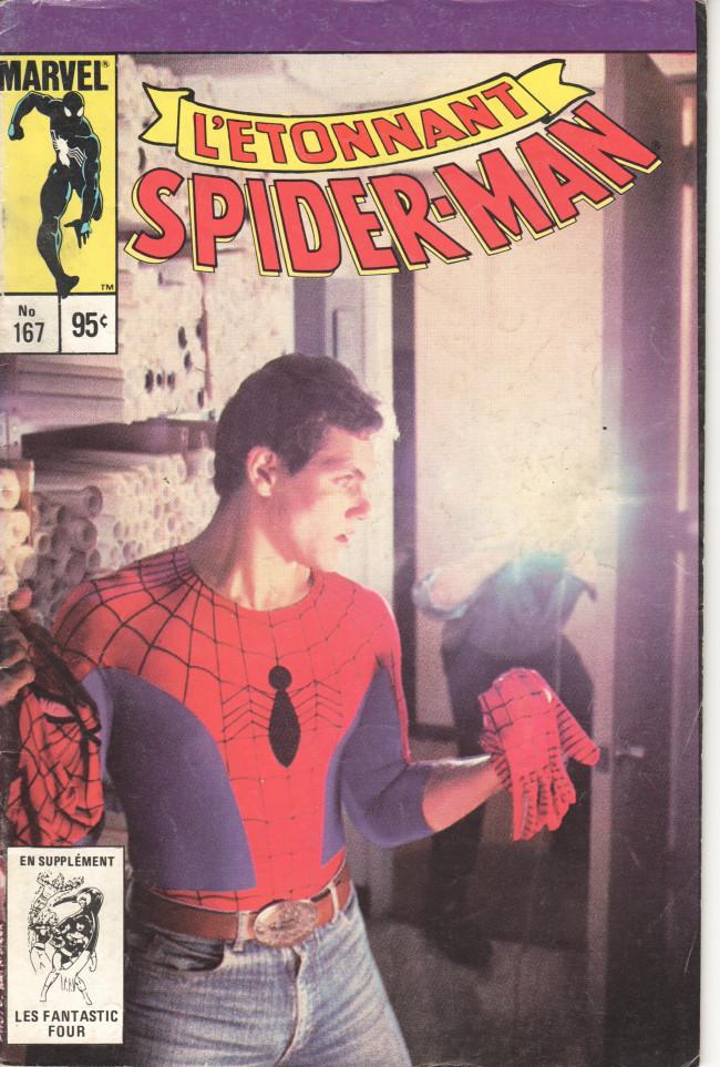 Couverture de L'Étonnant Spider-Man (Éditions Héritage) -167- Secret professionnel !