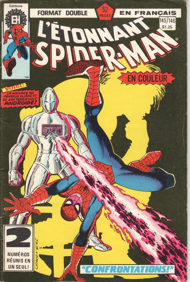 Couverture de L'Étonnant Spider-Man (Éditions Héritage) -145146- Confrontations !