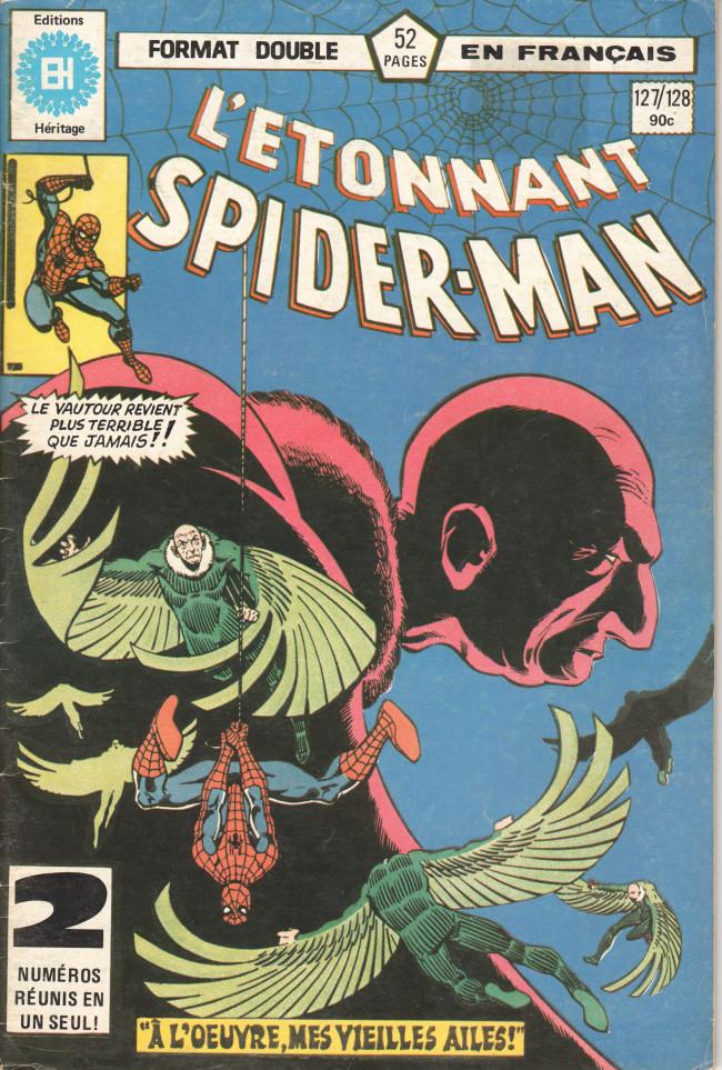 Couverture de L'Étonnant Spider-Man (Éditions Héritage) -127128- Que battent ces vieilles ailes !
