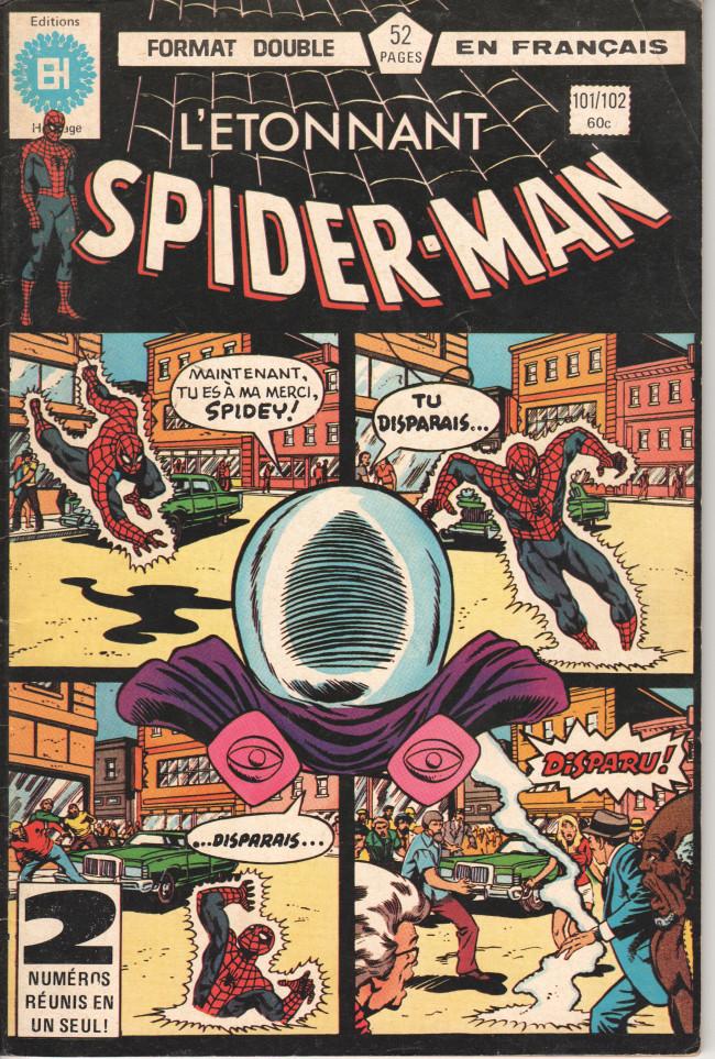 Couverture de L'Étonnant Spider-Man (Éditions Héritage) -101102- Maintenant vous me voyez !...