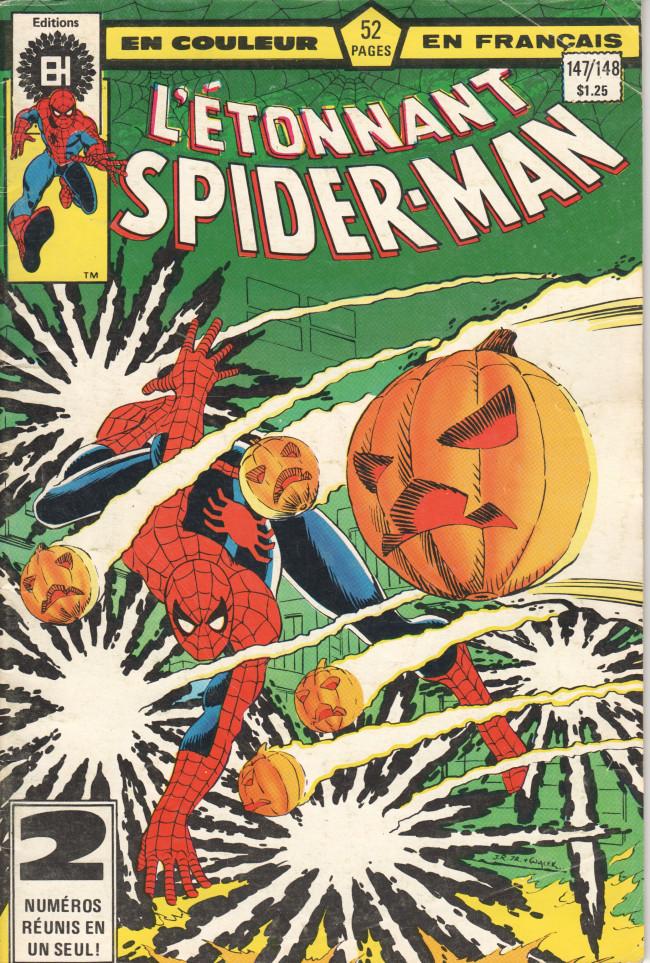 Couverture de L'Étonnant Spider-Man (Éditions Héritage) -147148- Epreuves