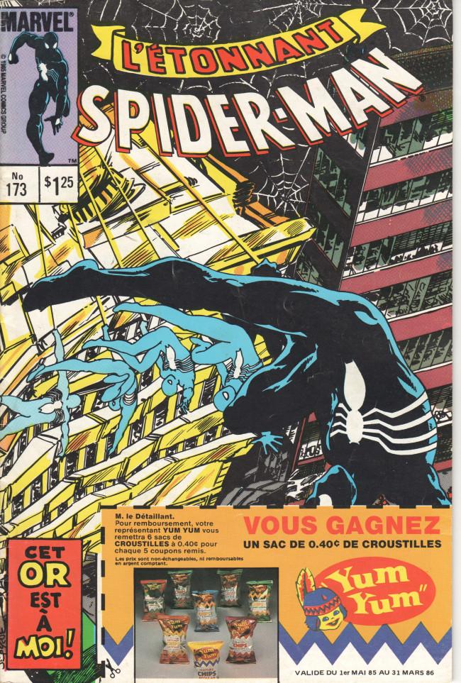 Couverture de L'Étonnant Spider-Man (Éditions Héritage) -173- La fièvre de l'or !