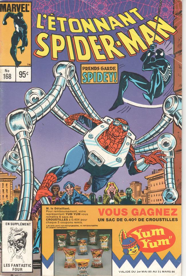 Couverture de L'Étonnant Spider-Man (Éditions Héritage) -168- Le spectaculaire Spider-Kid !
