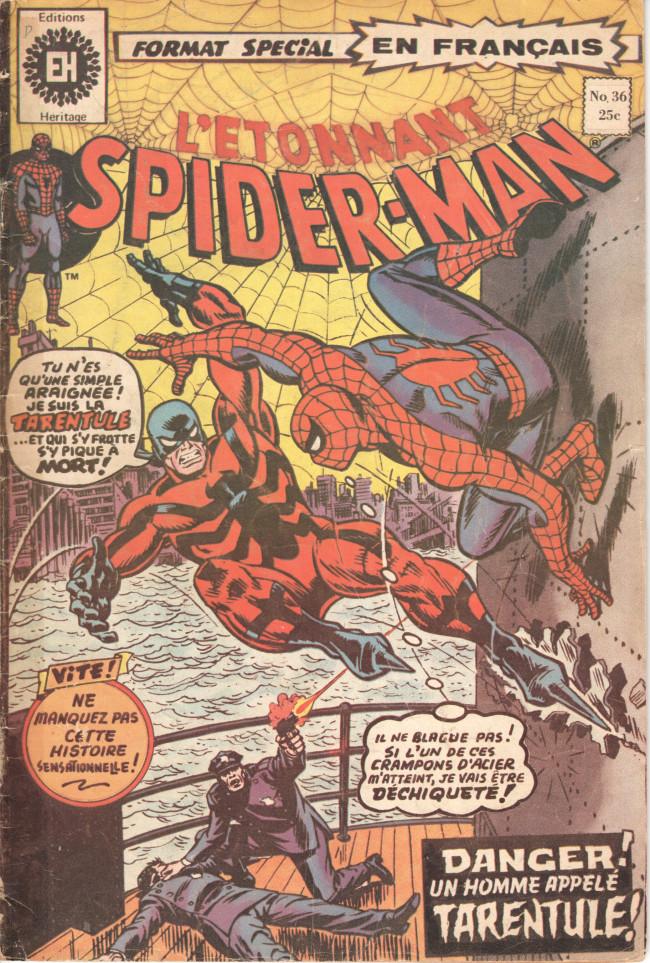 Couverture de L'Étonnant Spider-Man (Éditions Héritage) -36- Tarantula